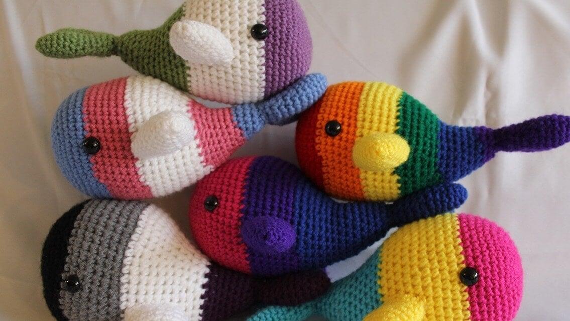 I giocattoli colorati sono un ottimo strumento per stimolare la visione del bebè