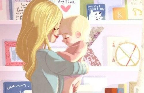 Alle mamme single non manca niente per poter educare bene i propri figli