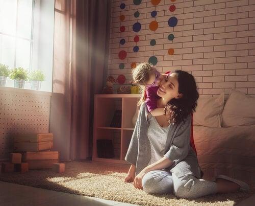 Momenti felici della maternità