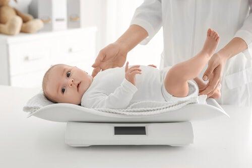 Equilibrare il peso del bebè: 6 raccomandazioni