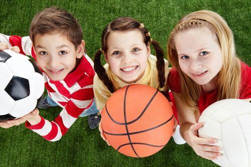 l'importanza dello sport durante l'infanzia