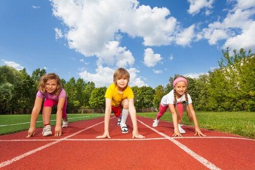 sport durante l'infanzia