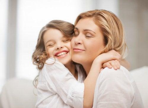 Un bambino che ha ricevuto una buona educazione è in grado di provare gratitudine