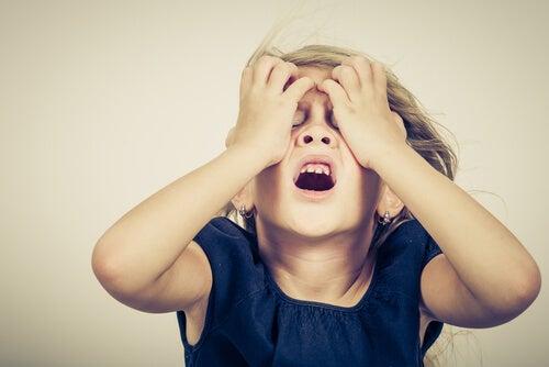 generare ansia nel bambino