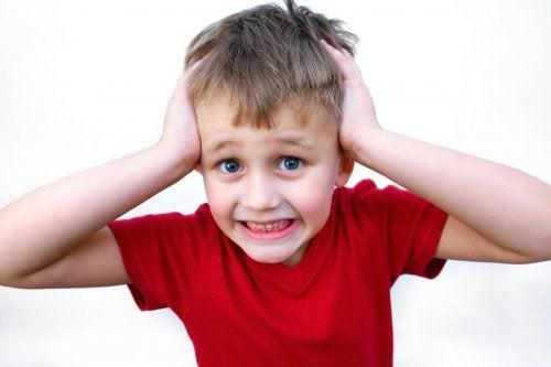generare ansia nei bambini