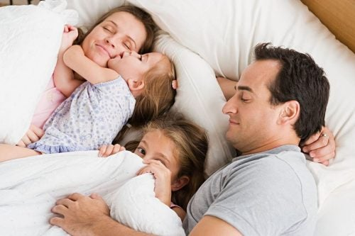 Una famiglia felice