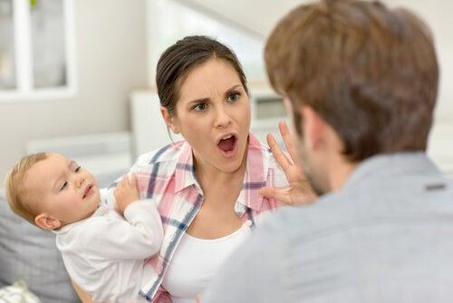 Discutere davanti ai bambini è un errore