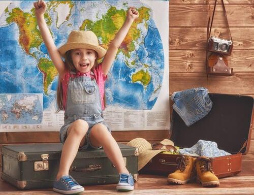 Viaggiare: ecco come cambia la vita dei più piccoli