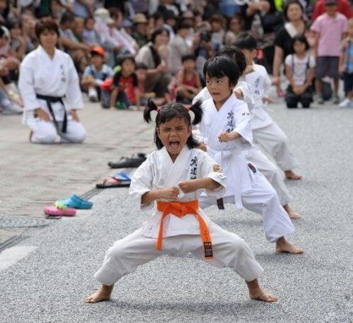 Arti marziali per modellare il carattere del bambino