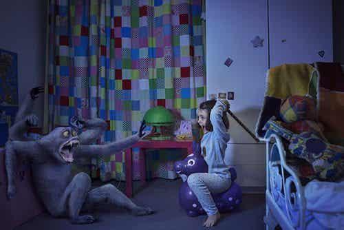 I bambini hanno bisogno del vostro amore per sconfiggere le loro paure