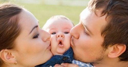 Grazie all'amore possiamo formare dei bambini sani e indipendenti