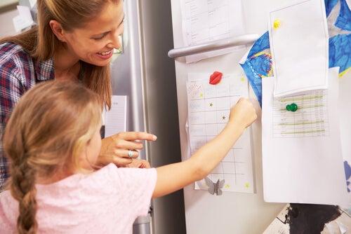 Disseminare parole per la casa è un sistema utile e divertente per imparare a leggere