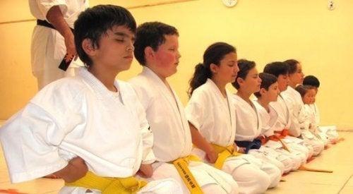 Karate e bambini