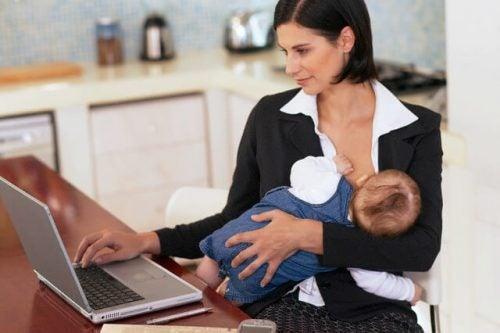 Lavorare e allattare: come posso fare?
