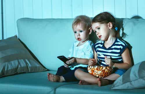 Processo ripetitivo: i bambini e i film