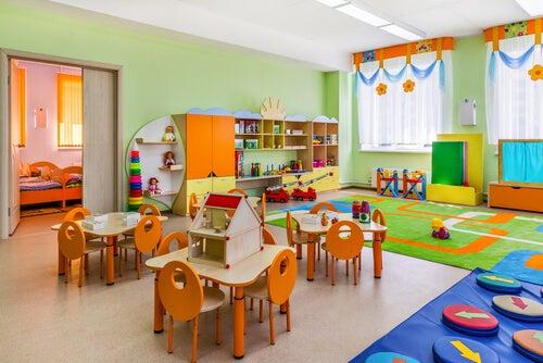 """L""""aula secondo il metodo Montessori"""