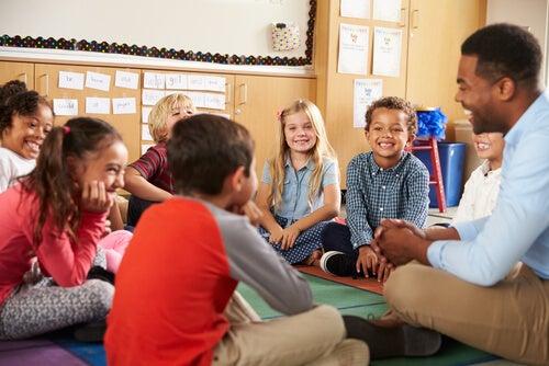 l'aula secondo il metodo Montessori