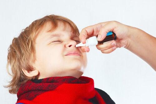 La congestione nasale nei bambini