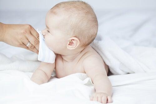 La congestione nasale nei bambini è, di solito, solo un disturbo