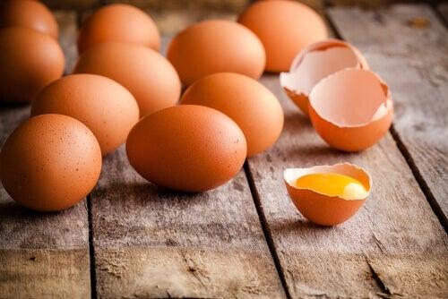 Le uova sono l'ingrediente fondamentale delle frittate