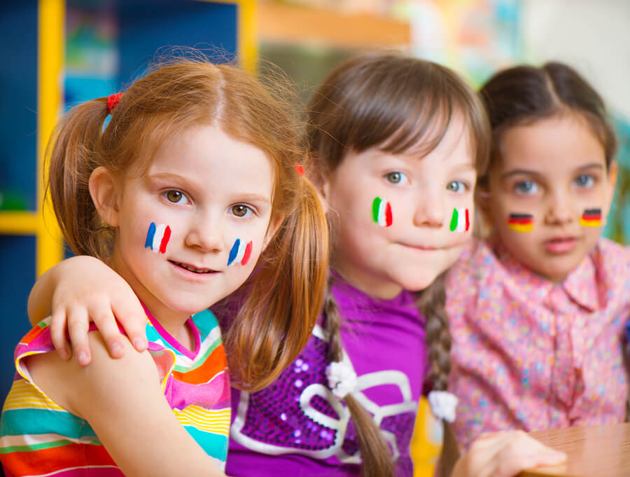 educare bambini bilingue