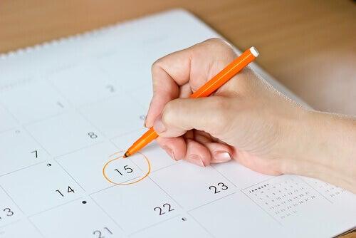 Calendario e data