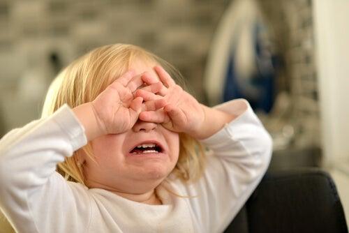 Mettere il broncio può essere una manifestazione di frustrazione