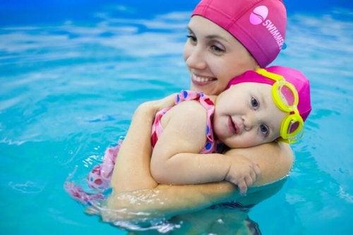 nuoto per il bebè