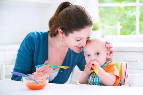 I purè di verdure sono perfetti per far provare nuovi sapori ai bambini