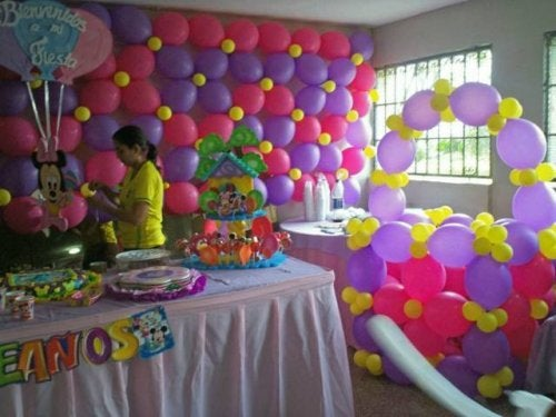 I palloncini rappresentano una decorazione indispensabile, nelle feste per bambini