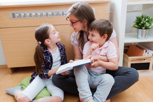 Per instillare l'amore per la lettura nei bambini bisogna cominciare a dare l'esempio fin da piccoli