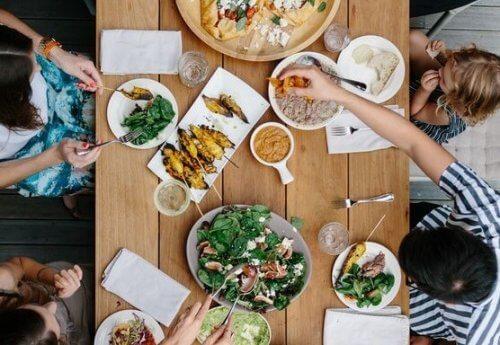 L'importanza di mangiare in famiglia