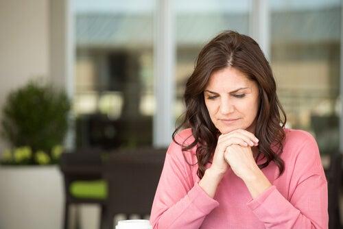 I cambiamenti di umore possono essere prodotti dall'arrivo della menopausa