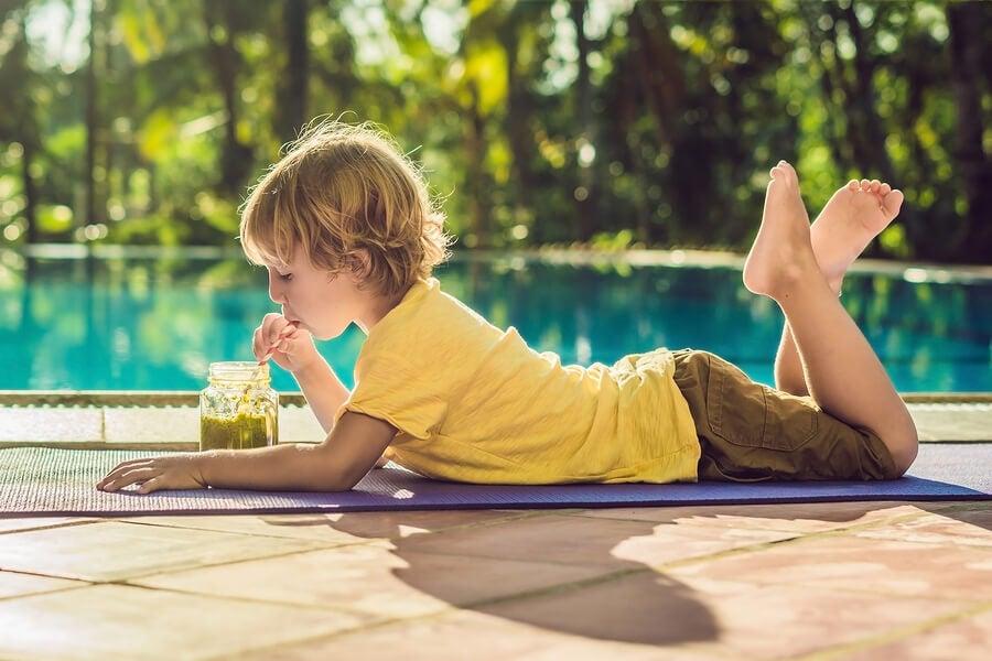 I succhi di frutta per bambini vanno preparati con frutti freschi e maturi di stagione