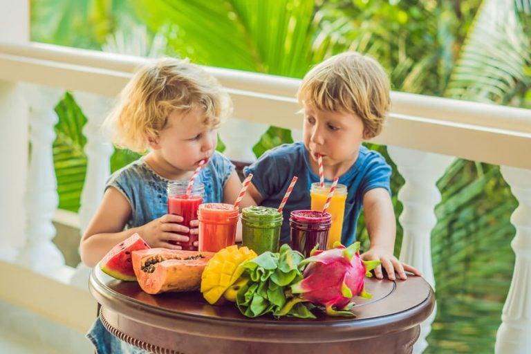 10 frullati di frutta per bambini