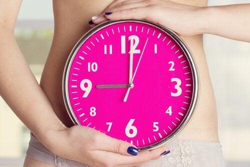 Orologio rosa