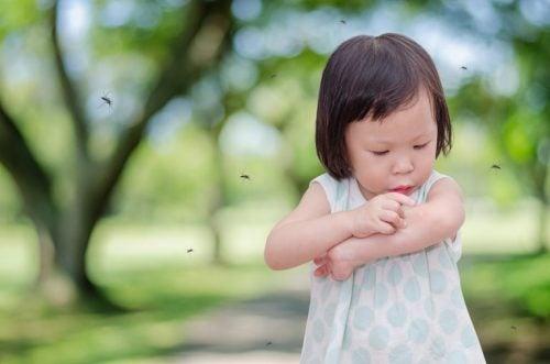 Perché mio figlio viene sempre punto dalle zanzare?
