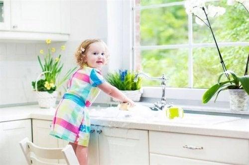 facili attività per preparare il bambino