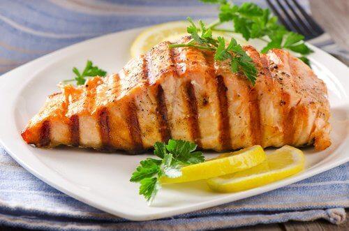 le ricette light per il post parto devono includere carni magre o pesce