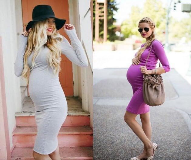 Potete scegliere i vestiti per la maternità che siano comodi e valorizzano la vostra famminilità