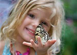 I bambini sono come farfalle nel cielo