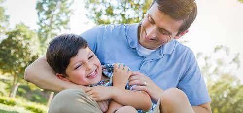 Solletico: i benefici per i bambini