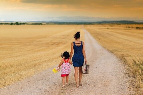 Mamma e figlia insieme verso il futuro