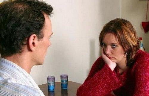 Relazione di coppia in conflitto