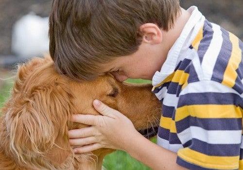 Vostro figlio ama gli animali: quali sono i benefici?