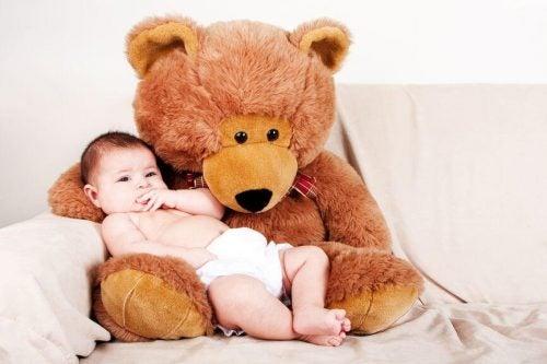 I peluche fanno bene a vostro figlio?
