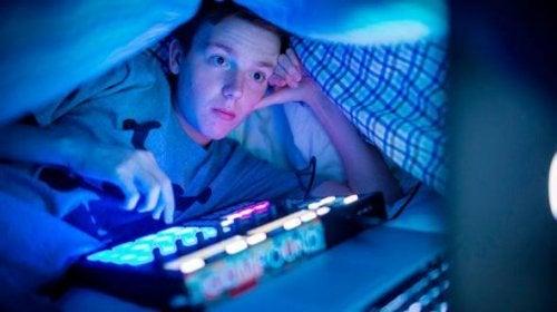 Il vamping può causare numerosi disturbi del sonno