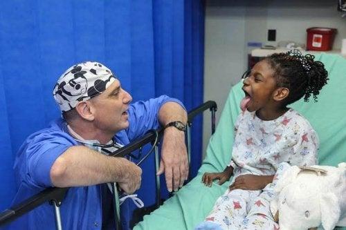 L'empatia è una caratteristica fondamentale di un bravo pediatra