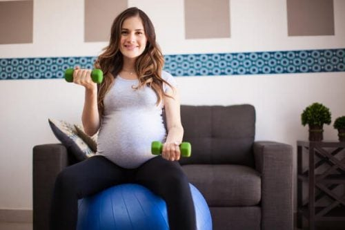 Esercizio durante la gravidanza, buono per la donna e per il feto