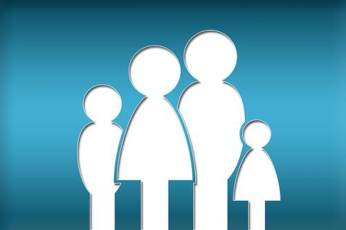 disegno di una famiglia